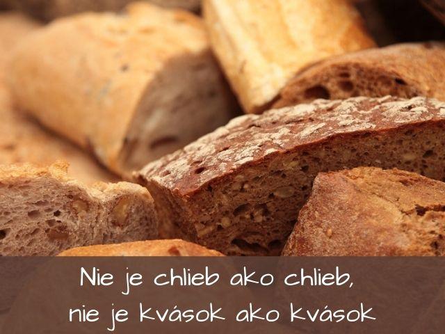 nie je chlieb ako chlieb